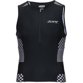 Zoot Performance Haut de triathlon homme Silver Checkers
